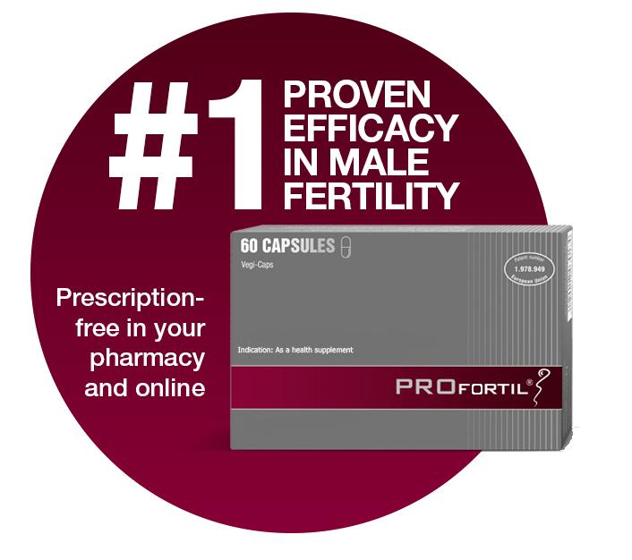 PROFORTIL�: #1 proven efficacy in male fertility